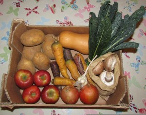 £10 veg and fruit box from The Garden Market at Eynsham