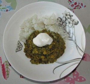 Frugal Dahl and Rice recipe