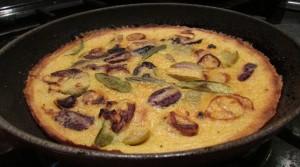 Olive and sage gluten free paleo farinata