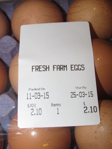 Oxford covered market 15 farm eggs
