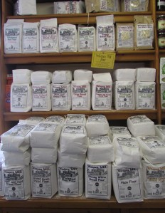 Q Garden local flour selection