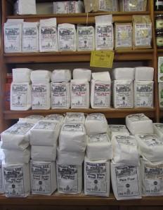 Q Garden local flour selection