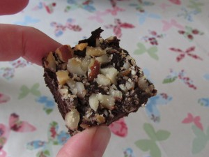 Black bean and brazil nut sugar free brownies