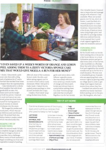 Feed a family in the Green parent magazine page 2